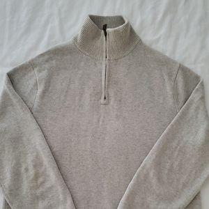 J. Crew Half Zip Sweater